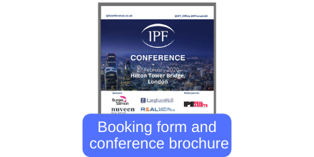Conference brochure and booking form
